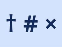 Jak napsat křížek