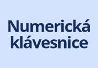 Náhled numerické klávesnice