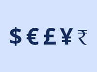 Znaky světových měn